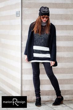 Marion R: Rockelue Sweaters, Dresses, Design, Fashion, Vestidos, Moda, Fashion Styles, Sweater, Pullover