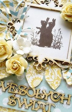 Easter Projects, Place Cards, Scrapbooking, Place Card Holders, Decor, Decoration, Scrapbooks, Decorating, Memory Books