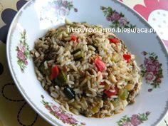 Ryż w sosie z cukinią i mięsem mielonym   Świat pachnący przyprawami!