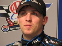 Learn about Denny Hamlin, driver of the No. 11 FedEx Toyota Camry for Joe Gibbs Racing ~ Skirts and Scuffs-Written by Paula Thompson-photo credit: Debbie Ross for Skirts and Scuffs