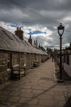 Streets of Fittie, Aberdeen, Scotland. SJ Elliott Photography.