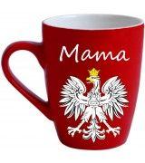 Mama Mug with Polish White Eagle