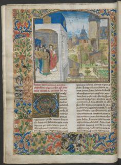 Augustinus, De civitate Dei, Vlaanderen (Brugge?/Gent?), ca. 1465-1470 (Universiteitsbibliotheek Utrecht, Hs. 42)