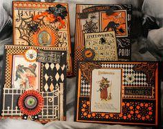 Ginas Designs: Halloween cards using Gina's Designs Freebie Friday printables