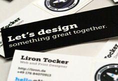 MOO Business Card Ideas: Glue stickers onto business cards!    Sticky Business Cards by Liron Tocker