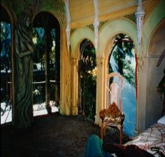 Detail of Frodo's room in Rivendell