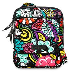 Mickey's Magical Blooms Mini Hipster Bag by Vera Bradley Things are always brighter when Mickey and Minnie are by your side. The colorful Magical Blooms print features the sweethearts among the floral