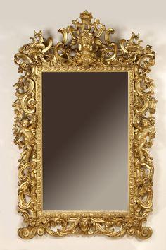 Expertise tableaux anciens cadres pinterest cadre en - Peindre un miroir dore ...
