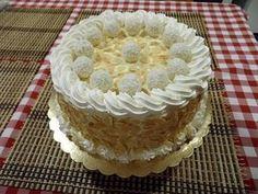 Raffaello torta, a világ legfinomabb kókuszos sütije! Képtelenség megunni ezt a finomságot - Egyszerű Gyors Receptek Eastern European Recipes, European Cuisine, Torte Cake, Cold Desserts, Cakes And More, Vanilla Cake, Cookie Recipes, Cake Decorating, Food And Drink
