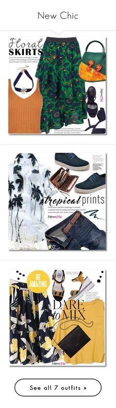 """New Chic"" by svijetlana ❤ liked on Polyvore featuring Brooks Brothers, floralskirt, polyvoreeditorial, lovenewchic, Stila, men's fashion, menswear, tropicalprints, Loeffler Randall and patternmixing"