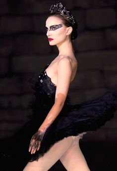 "Natalie Portman / ""Black Swan"" Yeah i know i'm lazy i've never watched it"