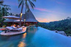 Valley-Top Infinity Pool at Viceroy Bali