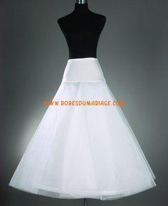 Jupon robe de mariée pas cher A-line