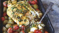 Lise Finckenhagens middagstips: Hvit fisk til hverdags og fest - Godt. Tandoori Chicken, Food Styling, Food And Drink, Turkey, Fish, Dinner, Ethnic Recipes, Dining, Turkey Country