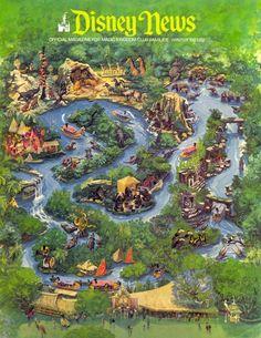 great jungle cruise layout artwork