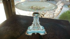 Antique Grainger Worcester Cake Stand/ by StyleJunkieAntiques