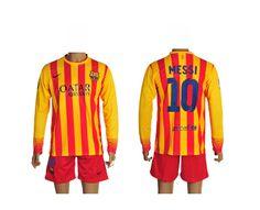 Barcelone Maillot de Football Exterieur Manche Longue 13/14 Nike Collection(10 Messi) Prix : €28.99 http://www.sfnug.org/soldes-barcelone-maillot-de-football-exterieur-manche-longue-13-14-nike-collection10-messi-pas-cher-en-ligne-p-1375.html