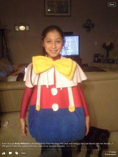 Humpty Dumpty kids costumes