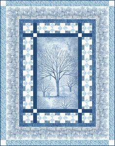 Free eQuilter Pattern - Sound of the Woods Grove - Free Shipping