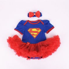 2016 Baby Girl Rompers 2pcs Sets Tutu Romper Dress/Jumpersuit headband Elsa Anna Party Birthday Chirstmans Superman Batman 0-1Y