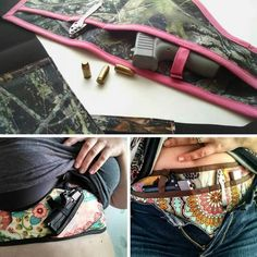 Camo conceal carry holster