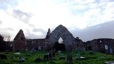 Abbey ruins Ballycastle County Antrim Northern Ireland