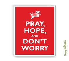 Padre Pio Pray Hope and Don't Worry 8x10 Print by HappyCatholics