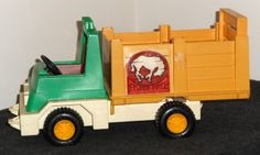 Vintage Fisher Price Rodeo Rig Vehicle Truck 330 FP 1979 $7.50