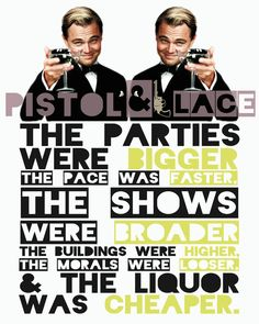 Movie Quote 'The Great Gatsby' Digital Print by PistolandLace, $2.00