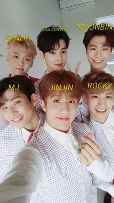 Listen to every Astro track @ Iomoio Kpop Male Groups, Astro Kpop Members, K Pop, Astro Wallpaper, Cha Eunwoo Astro, Sanha, Minhyuk, K Idols, Korean Boy Bands