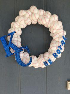 Kansas City royals wreath