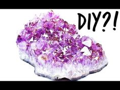 Deco DIY Tumblr Inspired Crystals | PAUADELL - YouTube