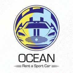 Ocean Rent a Sport Car logo by Serdal Sert