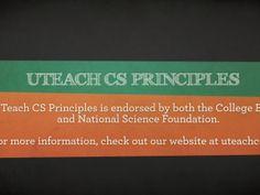 UTeach CS Principles Trailer