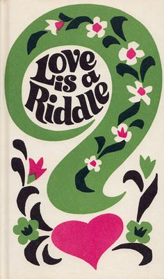 Love is a Riddle - a vintage book of jokes and riddles with decorations by Grisha Dotzenko (Peter Pauper Press)