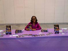 At UBAWA Book Fair