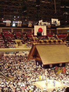 Sumo at Ryogoku, Tokyo, Japan    大相撲 両国国技館