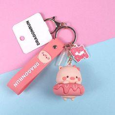 Cute Keychain, Keychains, Japan Fashion, Cute Designs, Types Of Metal, Donuts, Polymer Clay, Take That, Kawaii
