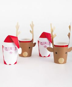 Santa & Reindeer Party Cup