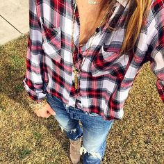 Sporting this #Rails today & it happens to be 50% off!!  #saywhat #SALE #PerfectforValentines #Valentines #Gift #plaid #iibrufav #armparty #newjewels #selfie