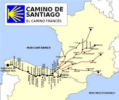 Camino de Santiago - I will hike this someday, maybe my 40th birthday