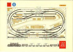 Palya-Tervek [HU], page 25 Bahn Plan, N Scale Layouts, Model Railway Track Plans, Model Train Layouts, Train Tracks, Model Trains, Planer, How To Plan, Mockup