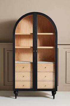 Fern Storage Cabinet | Anthropologie Hanging Furniture, Furniture Decor, Furniture Design, Plywood Furniture, Chair Design, Unique Wood Furniture, Plywood Floors, Blue Furniture, Furniture Storage