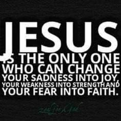 Isn't JESUS wonderful? He is our only path to Salvation. He is our protection, our correction, and our direction! AMEN