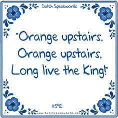 Oranje boven - Oranje boven, lang leeft de koning