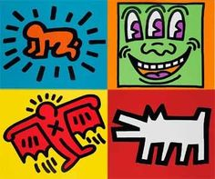 CarolSimonLevin -- Program Palooza: Picture This: Keith Haring: Characters at Play