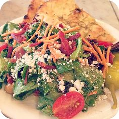 Not only does Punch Pizza have wonderful pizza, the salads are awesome too!