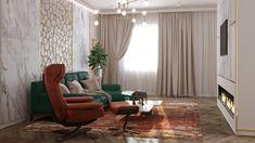 Penthouse modern de lux - Creativ-Interior Interior Projects, Decor, Curtains, Interior, Modern, Home Decor, Penthouse