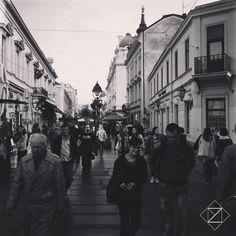 Pietons. Belgrade, Serbia  BELGRADE STYLE - http://www.zarkomartin.com/album/belgrade-style