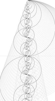 Prime Number Patterns by Jason Davies, really cool! shows how prime numbers form a yin yang pattern Sacred Geometry Symbols, Number Patterns, Math Art, Golden Ratio, Science, Grafik Design, Fractal Art, Fractal Geometry, Yin Yang
